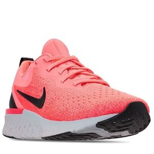 Nike Pink Odyssey React Running Shoes NWT